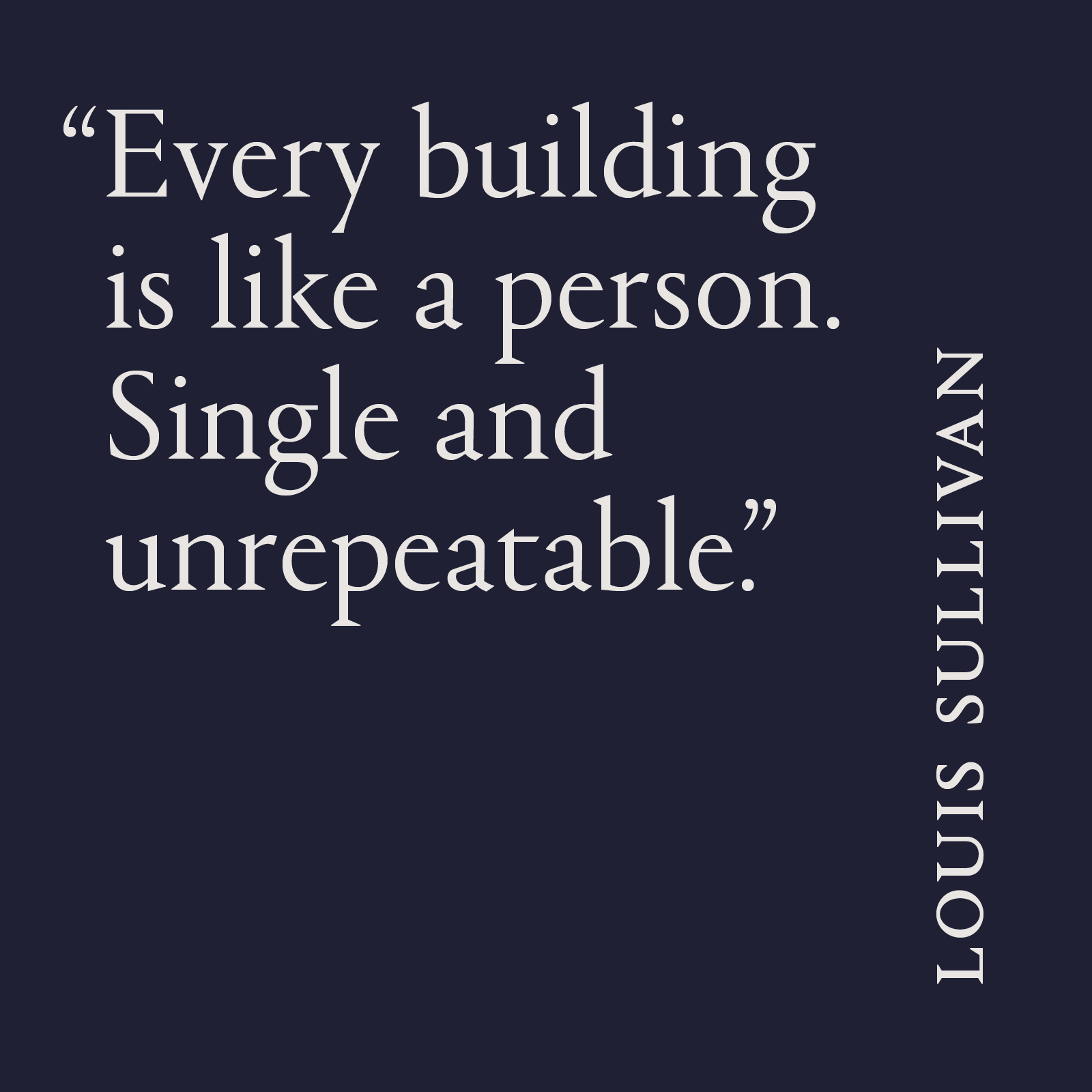 HCO-LouisSullivan-Quote
